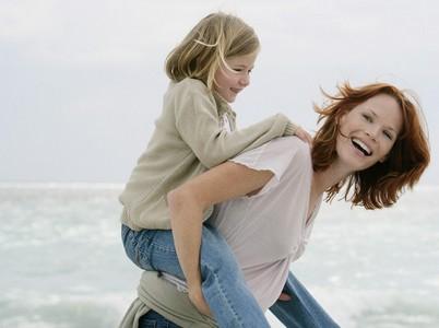 女孩培养:好妈妈要善于把女性的柔美传染给女儿