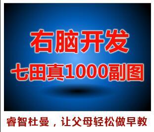 早教资源下载:经典的七田右脑1000幅中文.中文版1000幅图PDF版