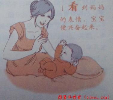大脑开发:一个月宝宝早教方案