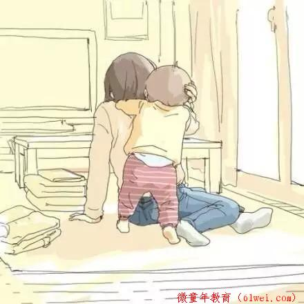 如此亲密的日子,能享受的也就几年,做父母的看了无不落泪!