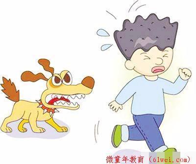 圣德育儿:孩子被狗攻击怎么办,是跑还是原地不动?赶紧教他自保